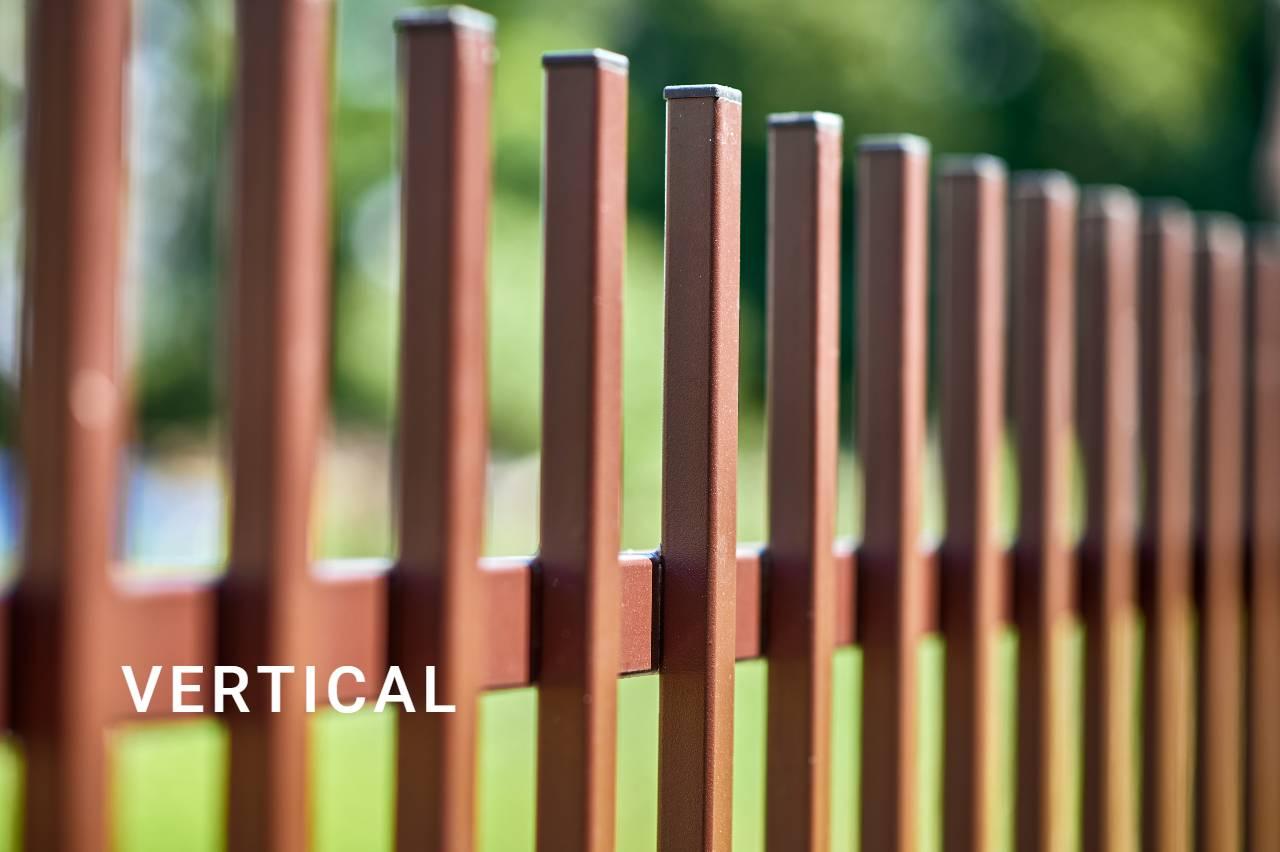 ogrodzenie typu Vertical