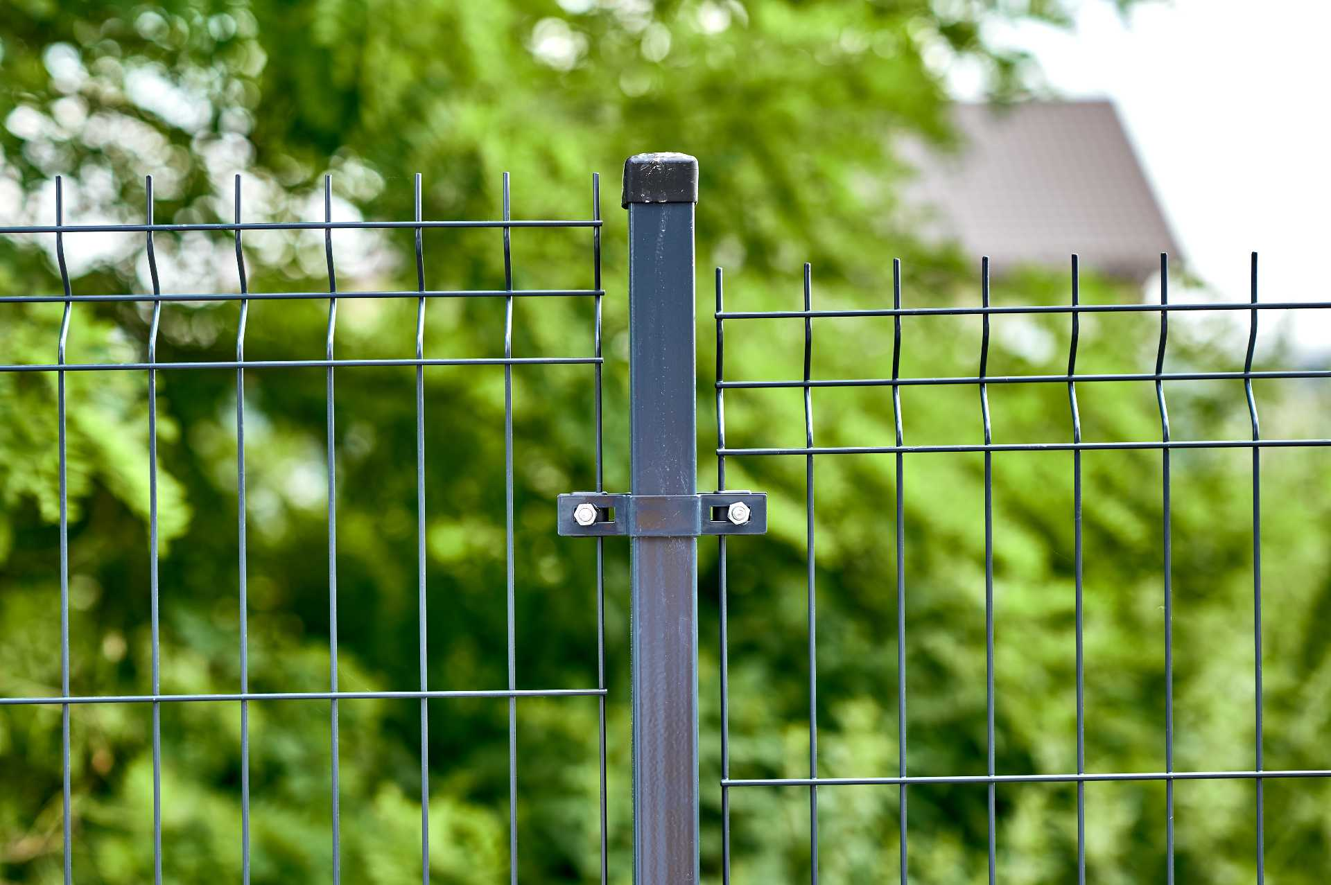 Ogrodzenie - Siatka panelowa detal