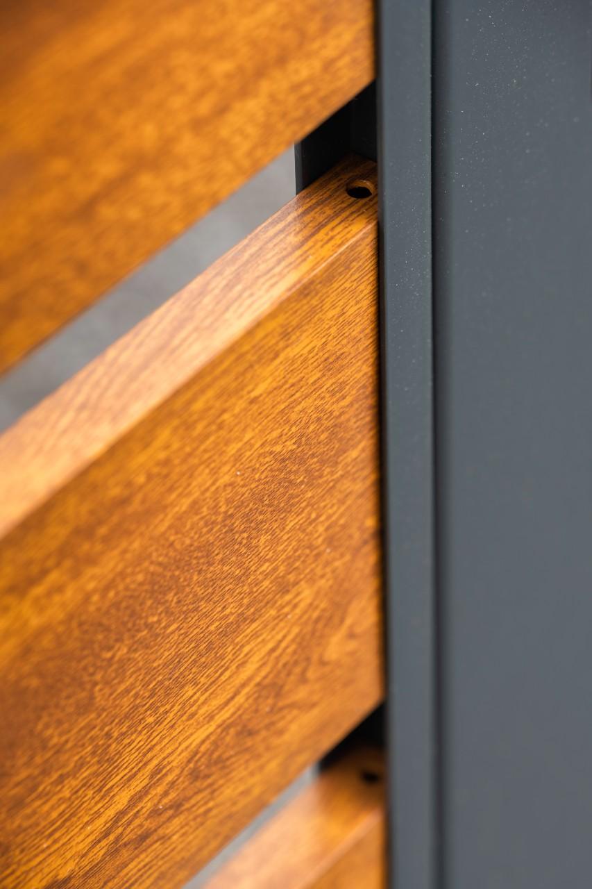 Ogrodzenie typu Wood Extend - detal