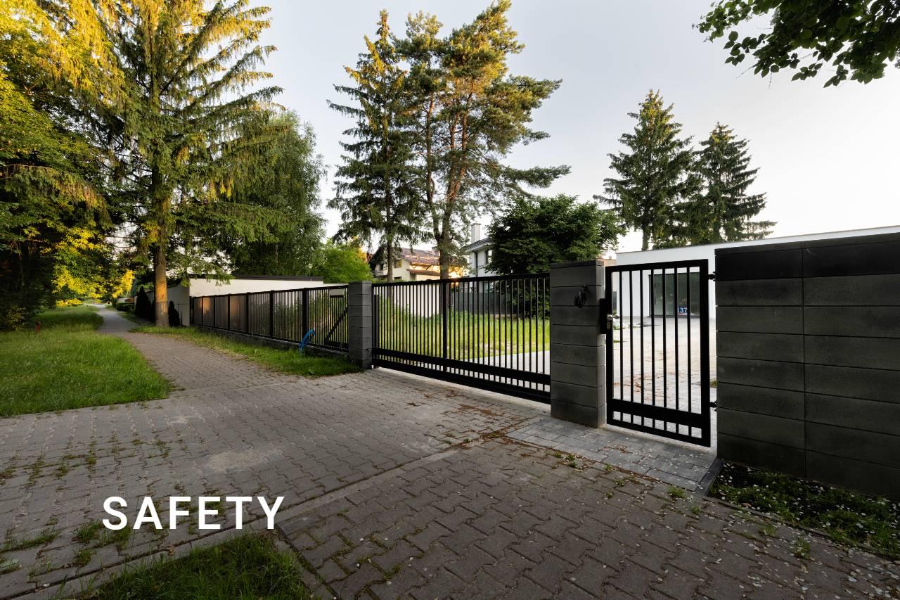 Ogrodzenie typu Safety - przykład realizacji