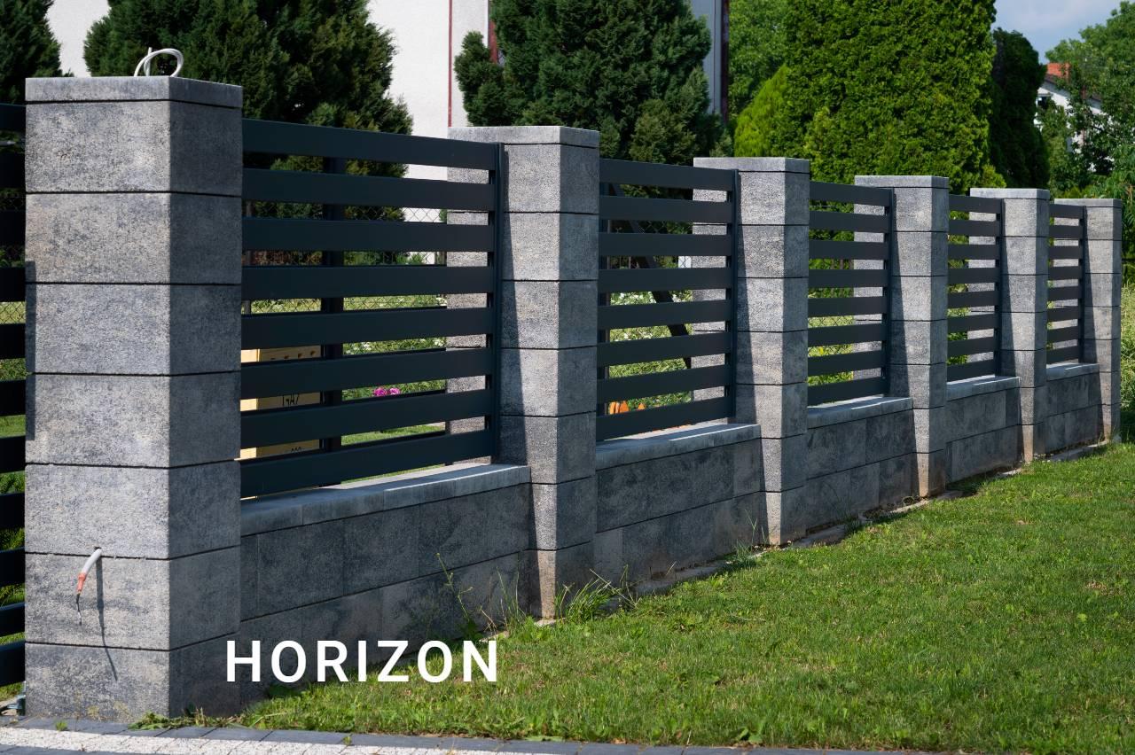 Ogrodzenie typu Horizon