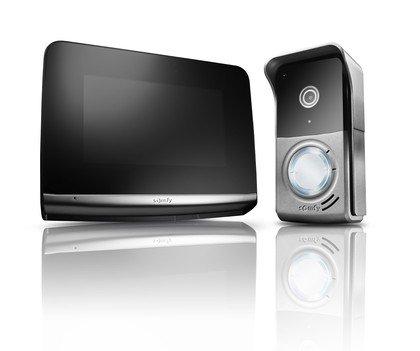 Ogrodzenie - Wideodomofon firmy Somfy